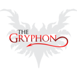 Small gryphon logo black